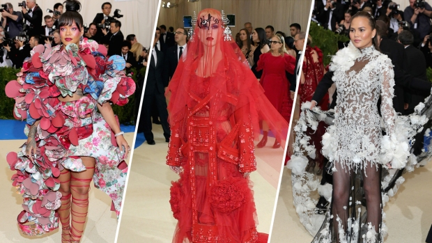 [NATL] From The Red Carpet: Best Looks of the 2017 Met Gala