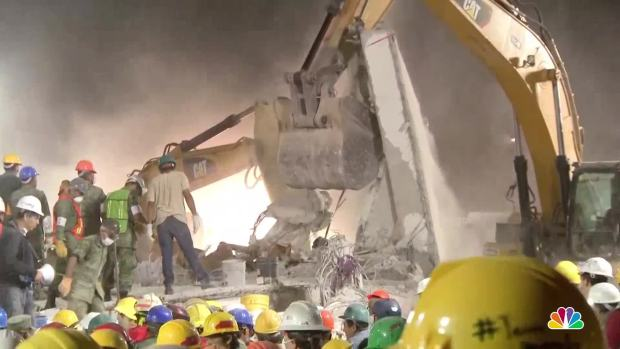 [NATL] Mexico's Earthquake Recovery Efforts Stretch Into Fourth Day