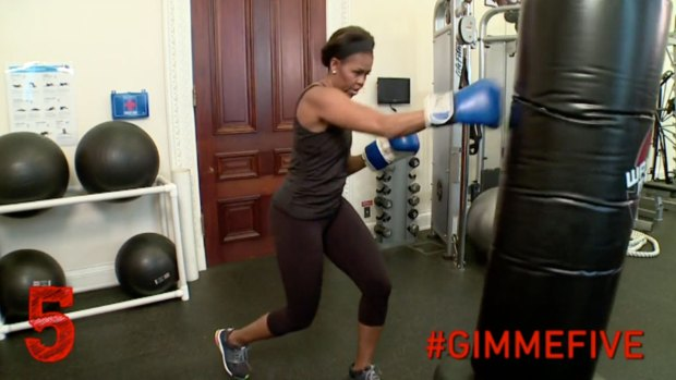 Michelle Obama Packs a Punch