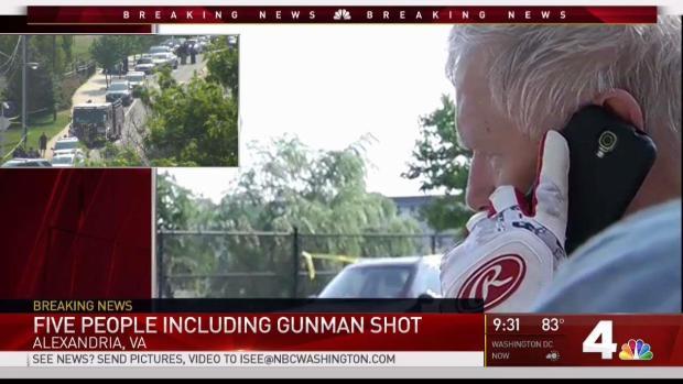 Congressman Describes Va. Attack: 'The Gunfire Was Non-Stop'