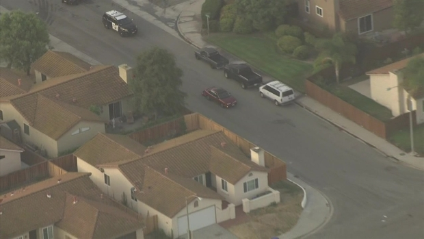 [LA] Morning Pursuit Ends in San Diego County Neighborhood