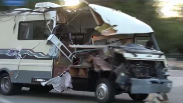 [LA] Motor Home Pursuit Suspect Connected to ID Theft Case