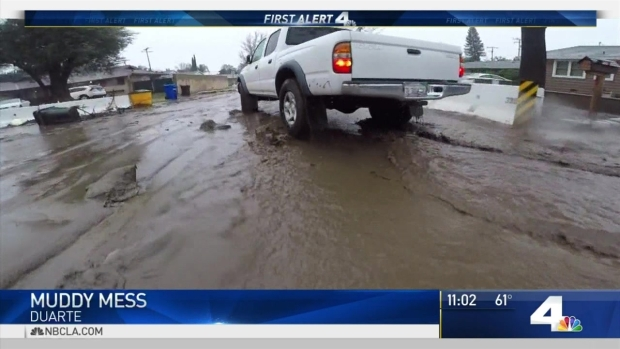 [LA] Mudflows Make Mess in Duarte