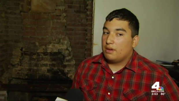 [LA] Teen Hurt in Napa Quake Expected to Recover