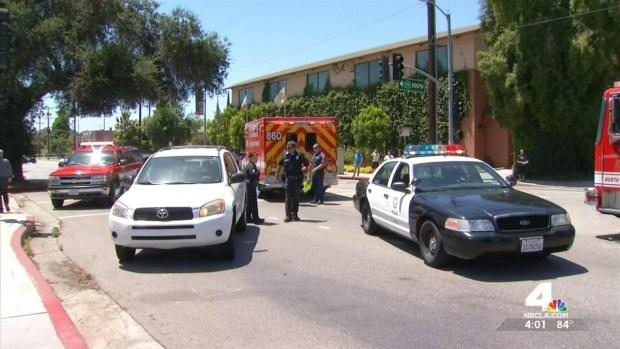 Car Runs Red Light, Critically Injures 3 Teens