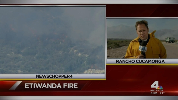 [LA] Relentless Winds Drive IE Fire Closer to Residents