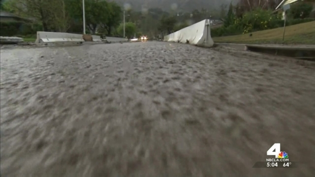 [LA] Rain Makes Small Dent in Drought