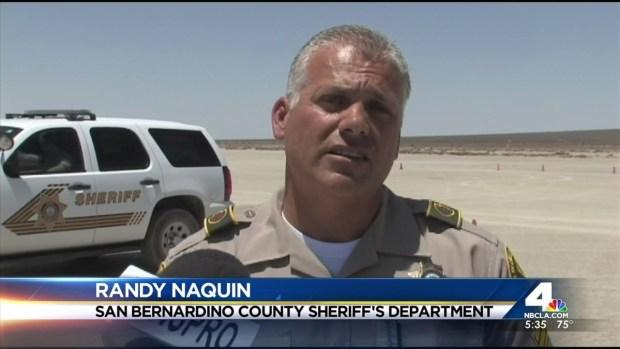 [LA] Firefighter Killed, Boy Hurt in Desert Plane Crash