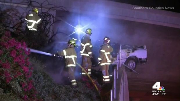 [LA] Teen Killed in Fiery Crash Not Supposed to Be in Car: Mother