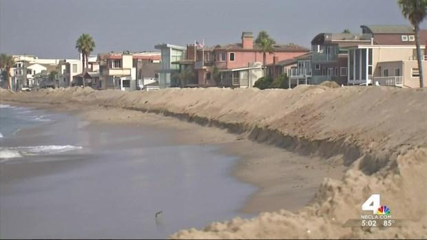 [LA] Sandbags Available for Long Beach Coastal Residents