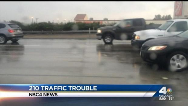 [LA] Rain Prompts Mudslide Alert in Foothill Areas