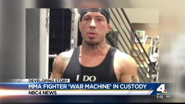 "[LA] ""War Machine"" Arrested in Girlfriend's Brutal Beating"