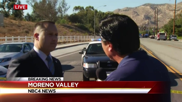 Investigators Piecing Together Slayings, Shootout in Moreno Valley
