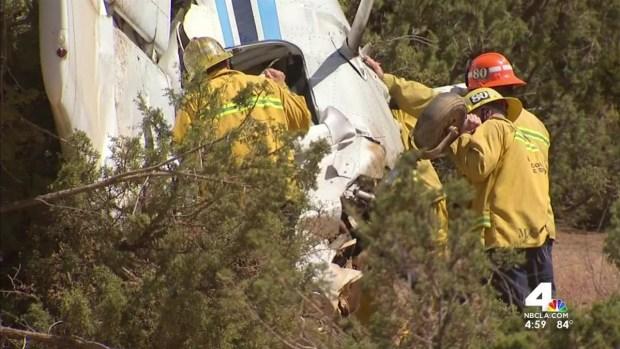 [LA] Two Injured in Small Plane Crash