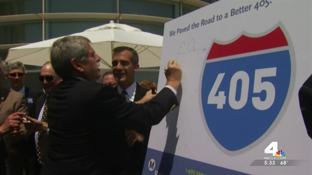 [LA] Long-Awaited 405 Fwy Carpool Lane Opens