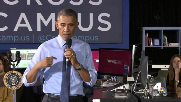 [LA] Obama Meets With Millennials, Touts Economic Record
