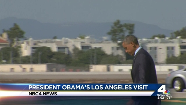[LA] Obama Heads to First of Two LA Fundraisers