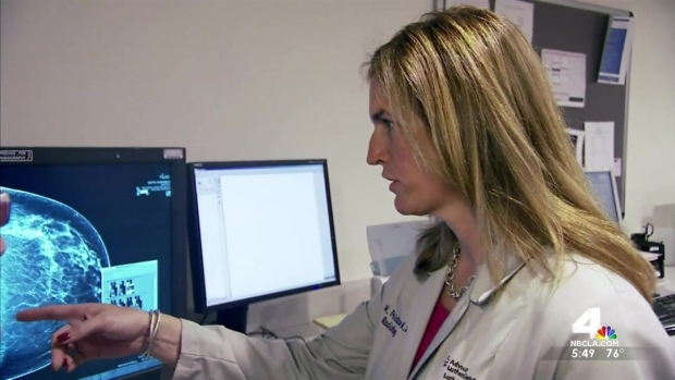 3-D Mammogram Testing Saving Lives