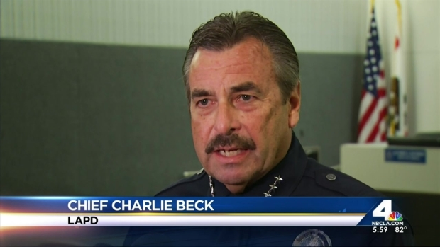 [LA] LAPD Chief's Actions Questioned as He Faces 2nd Term