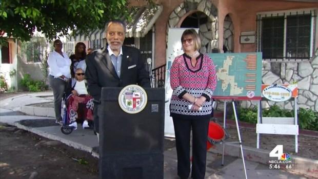 [LA] City Officials Tackle Broken Sidewalks