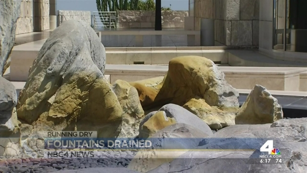 [LA] LA Fountains Turning Off Water Amid Drought