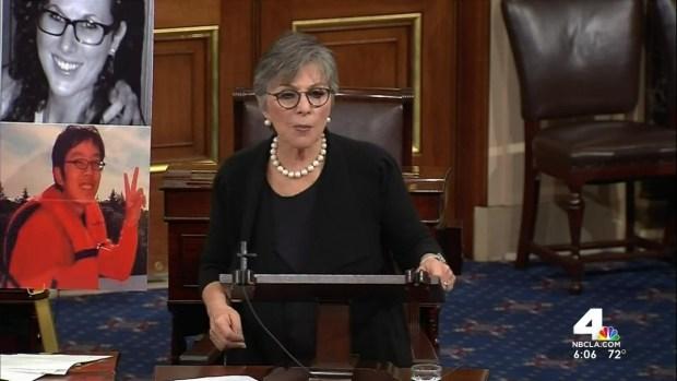 [LA] CA Senator Proposes New Gun Measures in Capitol Hill Speech