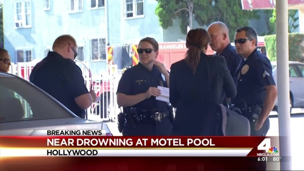 [LA] Two Kids, Mother in Grave Condition After Near Drowning