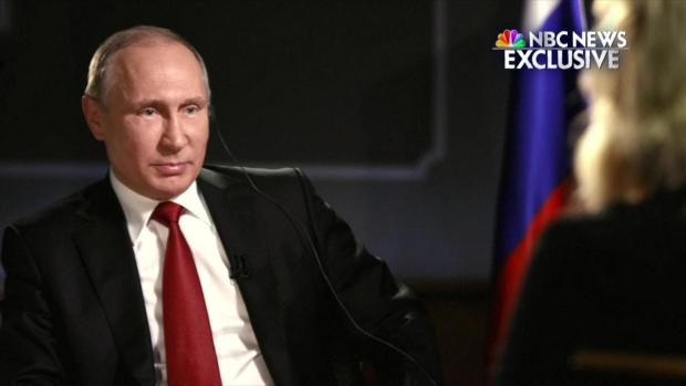 [NATL] Putin Addresses Russian Election Interference With NBC's Megyn Kelly