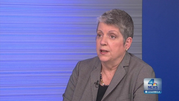 [LA] NewsConference: Janet Napolitano, A Cap for  Out-of-State Students?