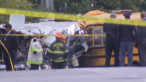 MVA: School bus driver in fatal Baltimore wreck lacked valid commercial license
