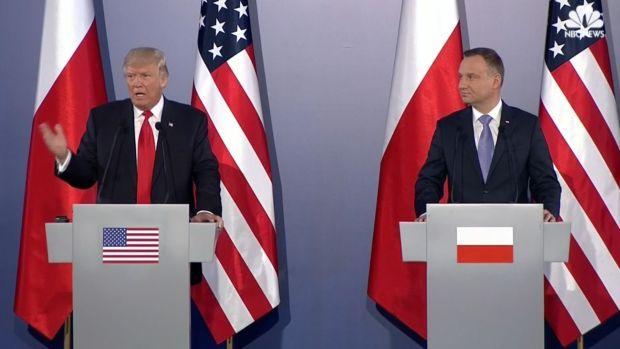 [NATL] Trump Visits Poland, Addresses European Countries