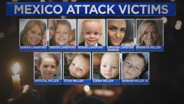 [NATL] 9 Americans Dead In Mexico Massacre