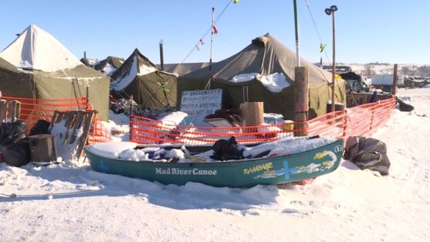 Pipeline Protesters Undaunted By Harsh Weather
