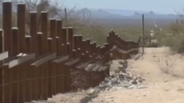 [NATL] Border Wall May Face Resistance on Tribal Land