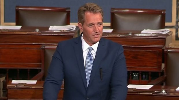 [NATL] Trump's Capitol Hill Visit Overshadowed by Criticism from Republican Senators Flake and Corker