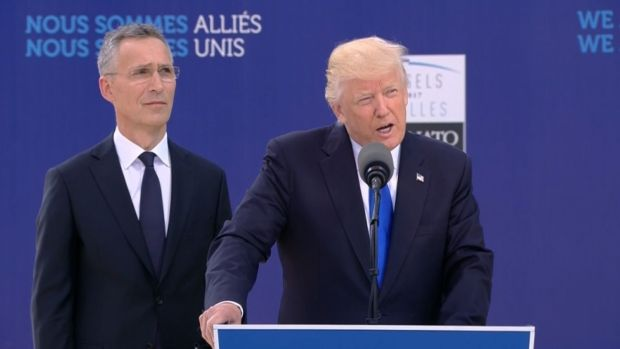 [NATL] Trump Demands NATO Allies Pay More at Brussels Summit