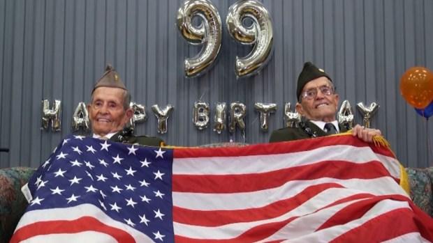 [NATL-NY] World War II Twins Celebrate 99th Birthday