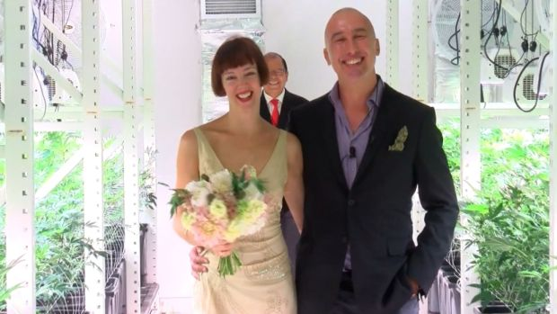 Couple Gets Hitched in Weed Dispensary