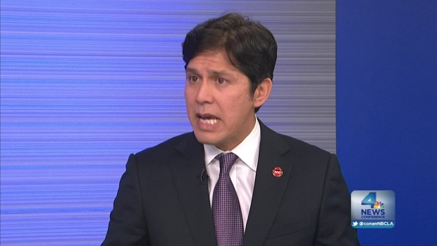 [LA] NewsConference: State Senator Kevin De Leon Breaking New Ground