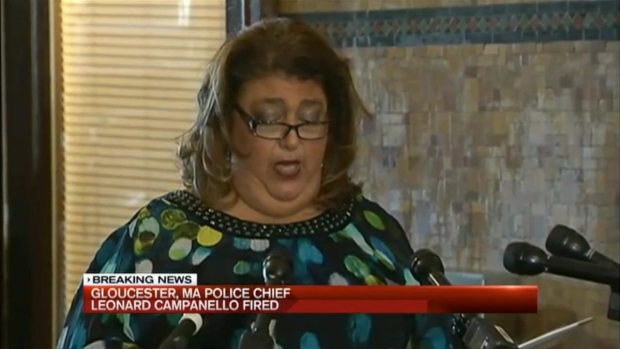 [NECN] Gloucester, Mass. Police Chief Leonard Campanello Fired