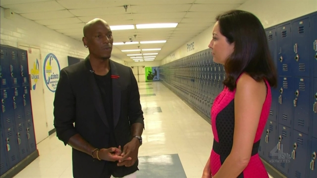 [LA] Watts Native Tyrese Talks Giving Back