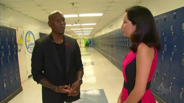 [LA] Watts Native Tyrese Talks Giving Back