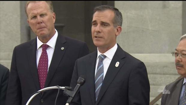 [LA] NewsConference: Is Mayor Garcetti Running for President?