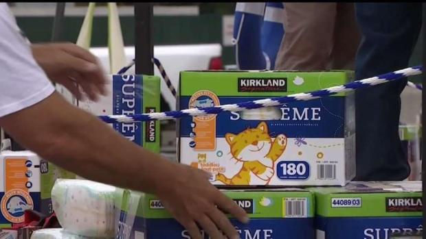 [LA] Non-Profit Hosts Diaper Donation Drive at Angels Stadium