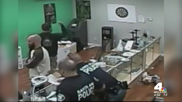 [LA] Officers Investigated After Pot Shop Bust