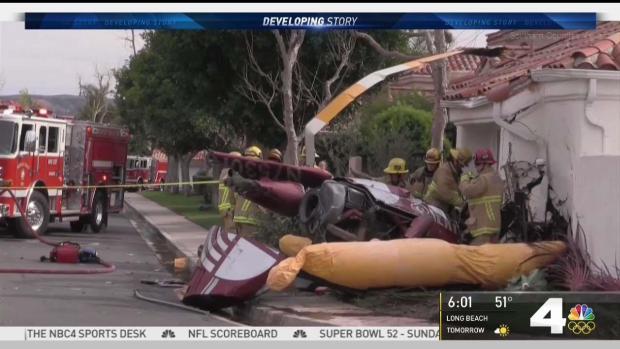 [LA] Officials Investigate Deadly Helicopter Crash in OC