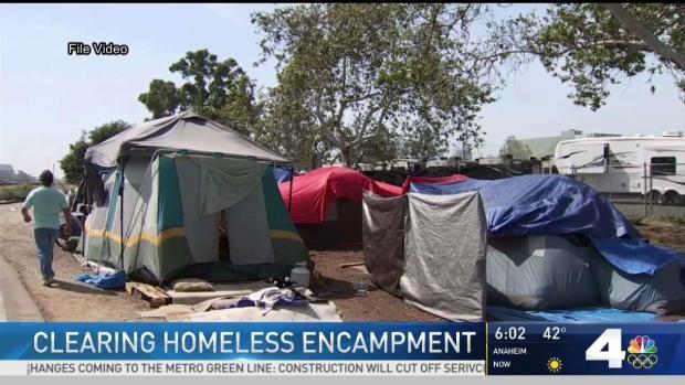 [LA] Orange County Sheriff's to Remove Homeless Encampment