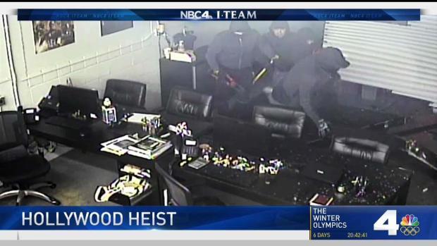 [LA] Organized Gangs Execute Elaborate Heists for Hollywood Gear