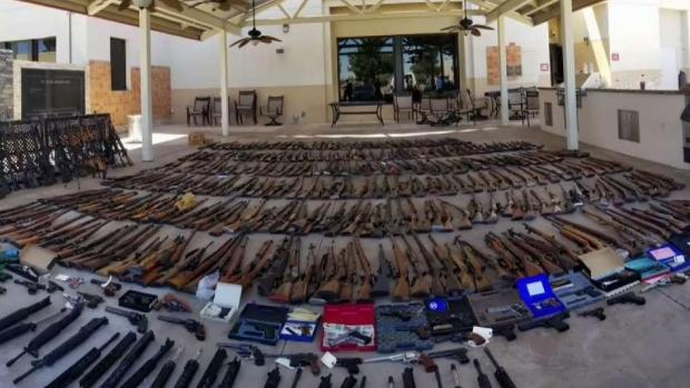 [LA] Over 500 Weapons Seized at Agua Dulce Residence