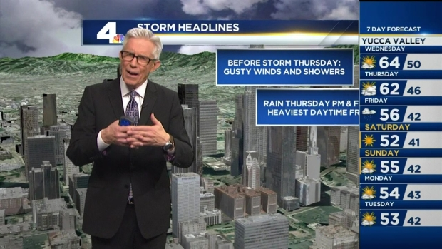 [LA] PM Forecast: Another Rain Storm Expected